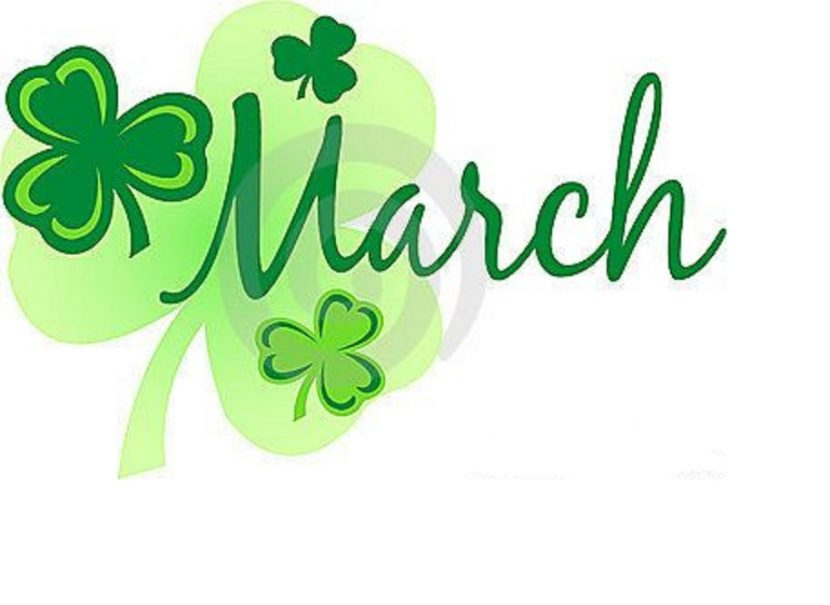 March Clipart Sign Picture March Clipart Sign