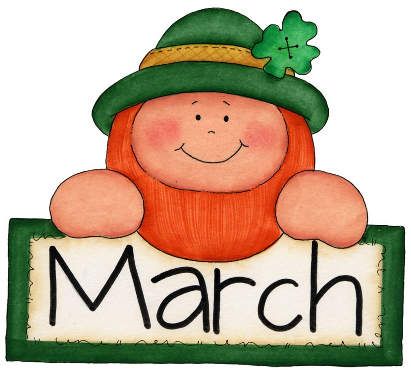 March Free Printable Free Clipart
