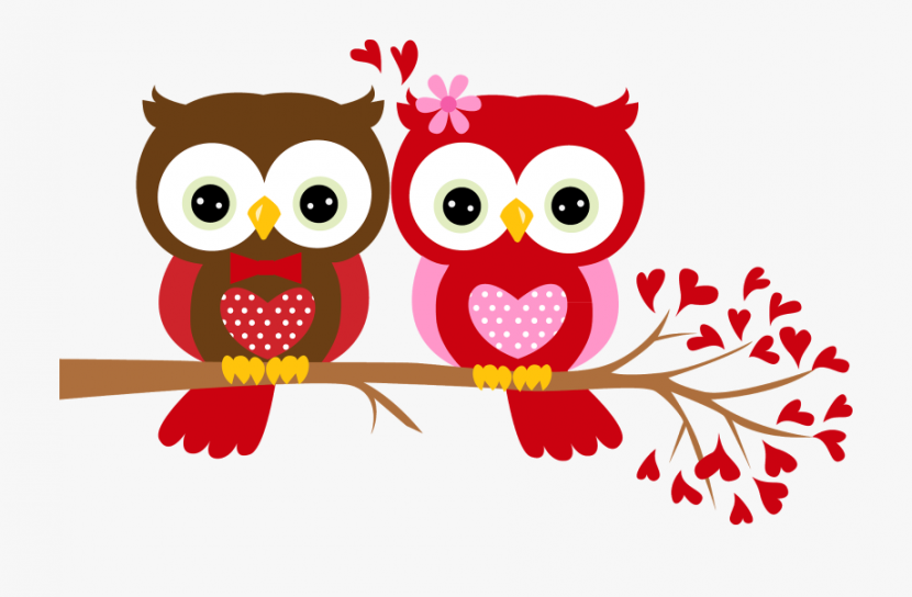 Owl Clipart February Happy Valentines Day Owl