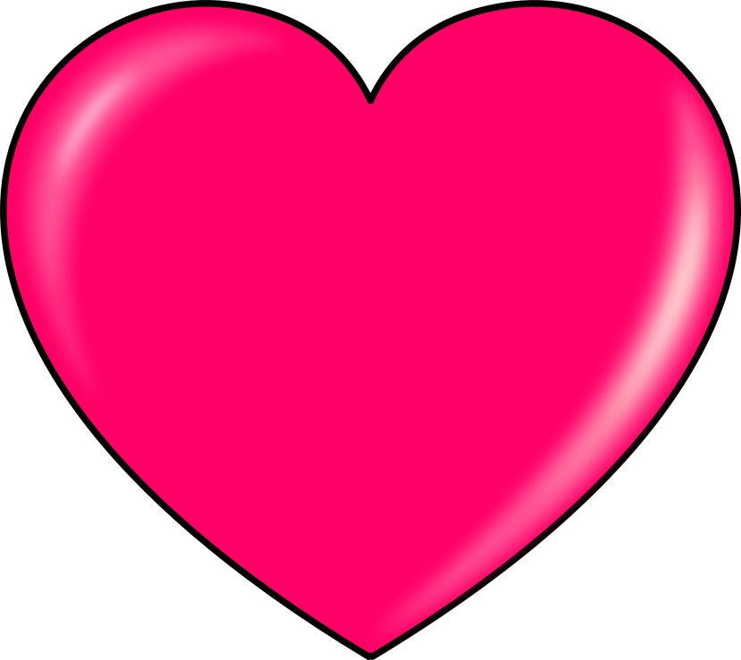 Pink Heart Clipart Transparent Png